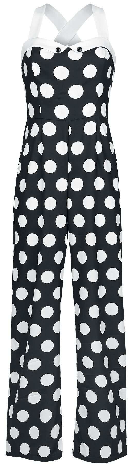 Image of   Banned Dotty About You Jumpsuit sort