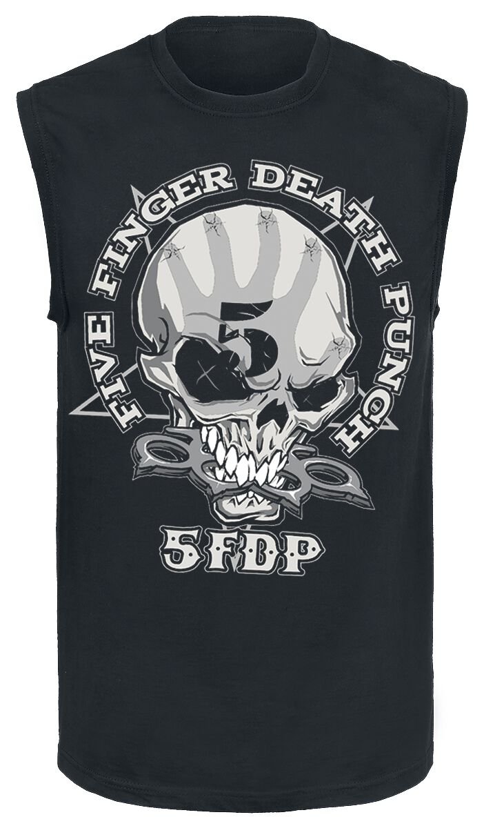 Image of   Five Finger Death Punch One Two Tanktop sort