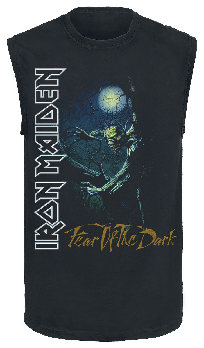 Image of   Iron Maiden FOTD Tree Spine Tanktop sort