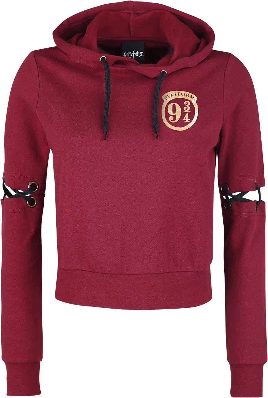 Harry Potter Hogwarts Express Bluza z kapturem damska czerwony
