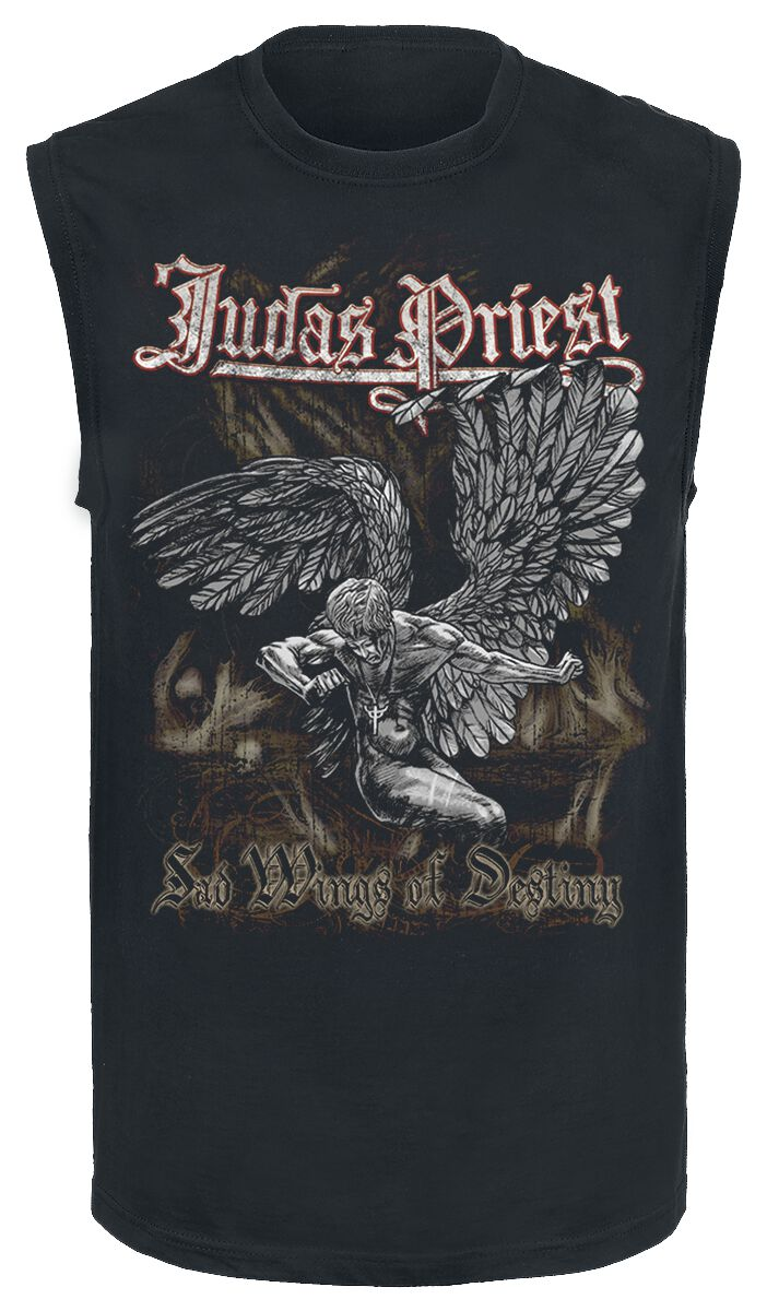 Image of   Judas Priest Sad Wings Tanktop sort