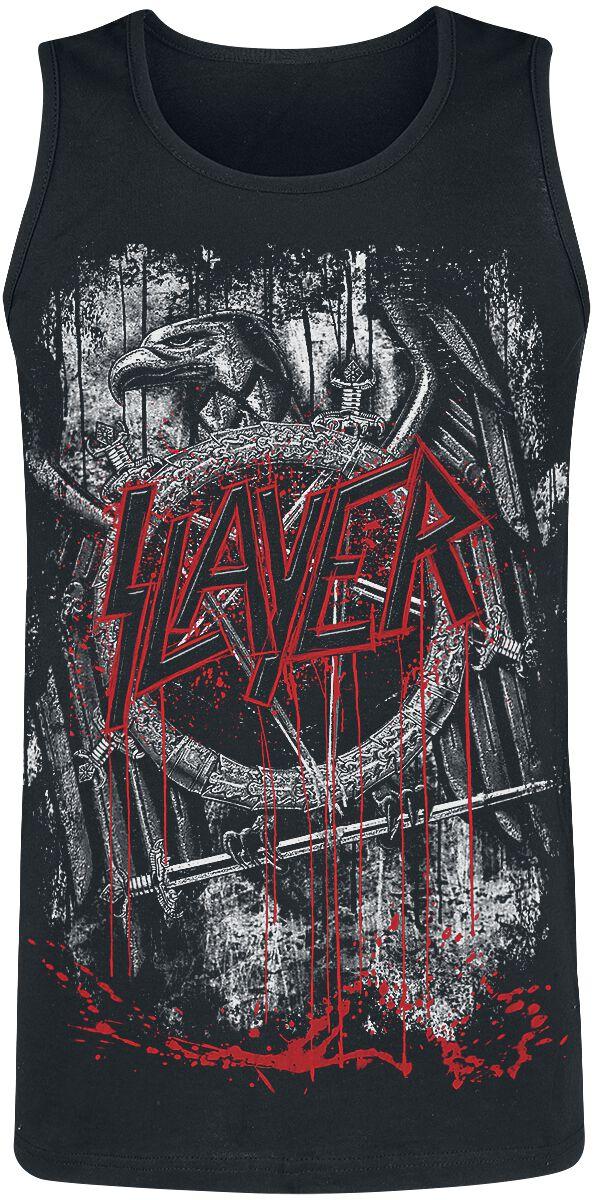 Image of   Slayer Dripping Skull Tanktop sort