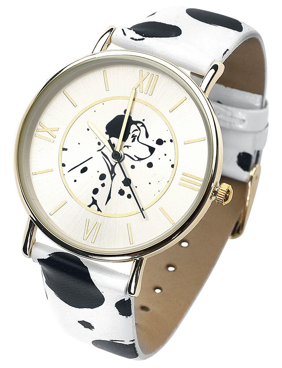 Image of   101 Dalmatinere 101 Dalmatiner Armbåndsur sort-hvid