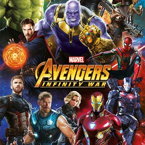 Avengers Infinity War Poster multicolore