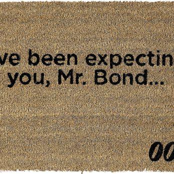 James Bond (I've Been Expecting You) Doormat