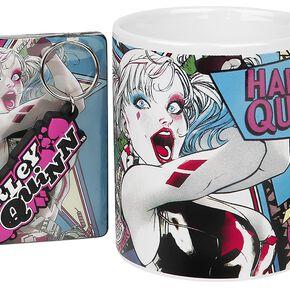 Harley Quinn Gift-Set Fan Pack multicolore
