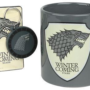 Game Of Thrones Maison Stark - Coffret Cadeau Fan Pack multicolore