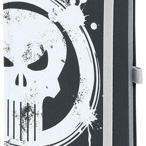 The Punisher Logo Cahier noir