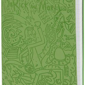 Rick & Morty Portal Dash Cahier vert