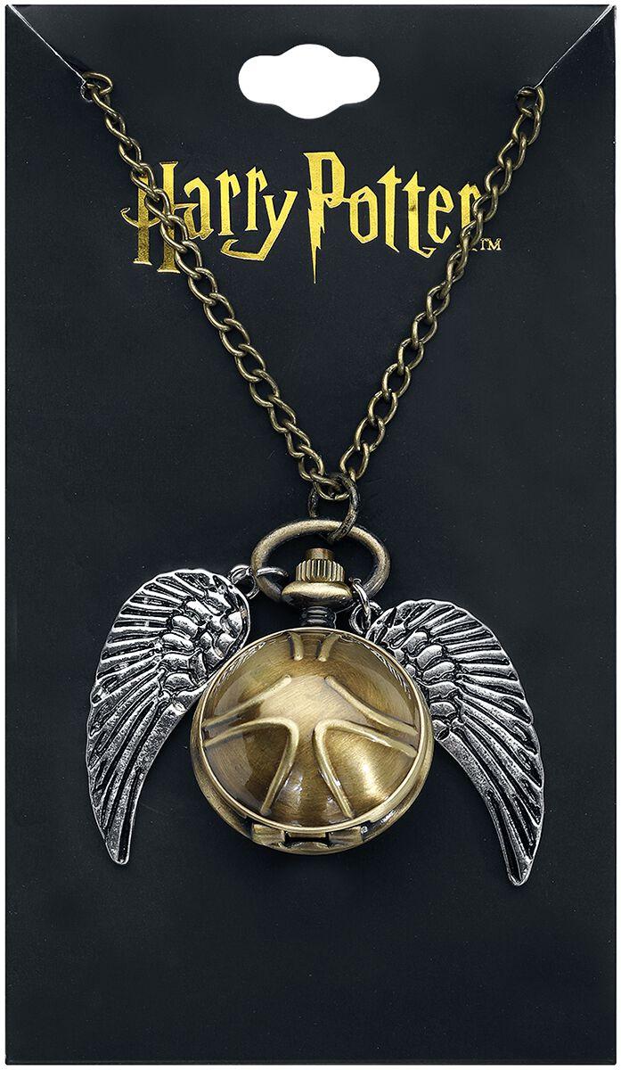 Image of   Harry Potter 3D Goldener Schnatz Halskæde guld