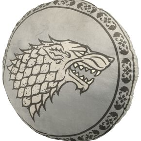 Game Of Thrones Stark Coussin décoratif gris