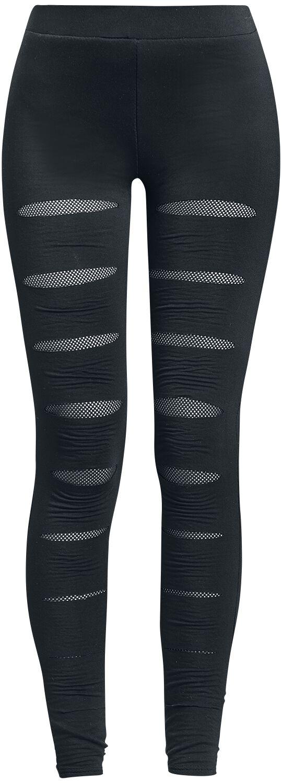 Image of   Forplay Mesh Underlayer Leggings Leggings sort