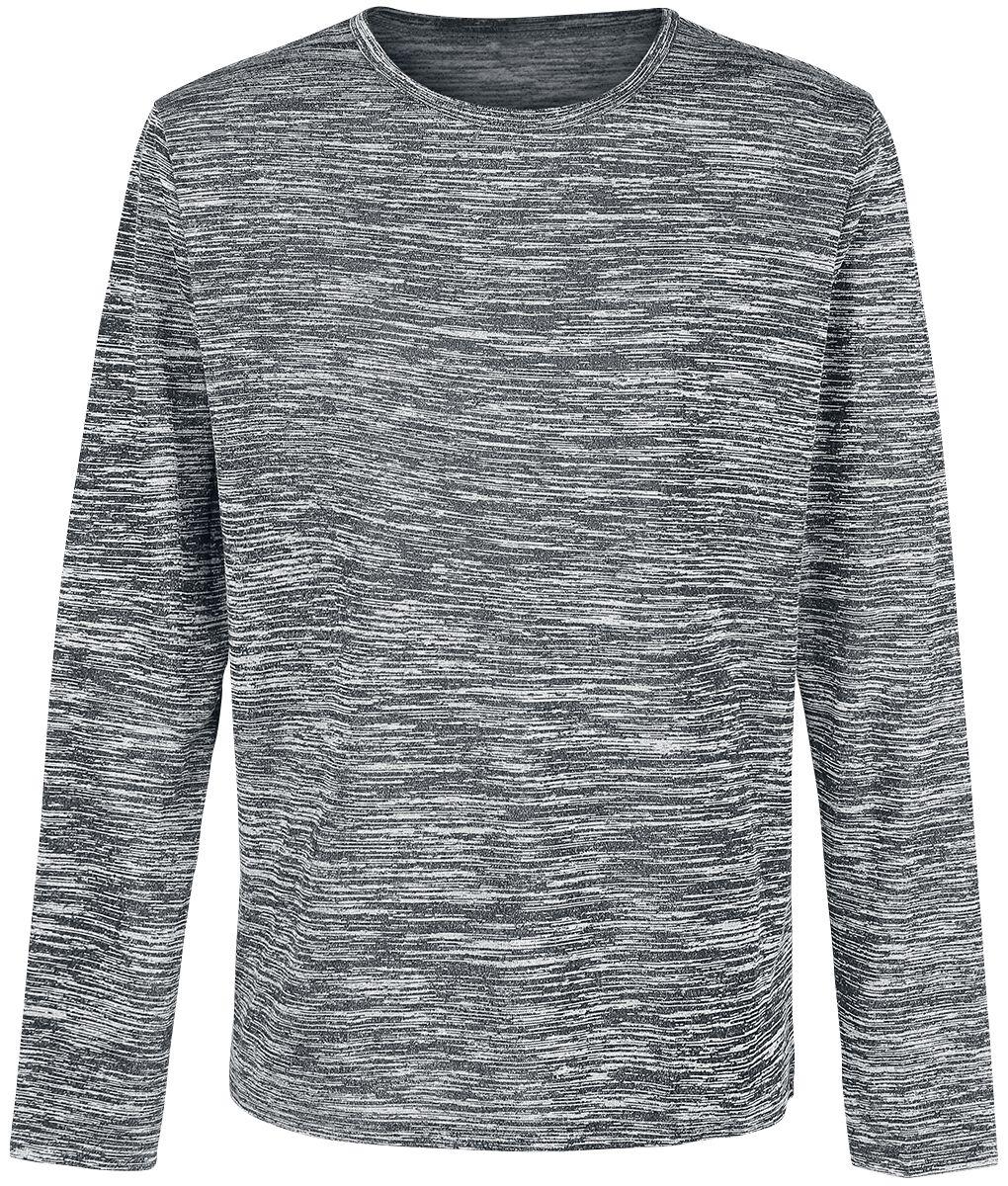 Image of   Forplay Heavy Melange Sweater Sweatshirt grålig