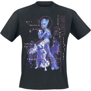 Avengers Infinity War - Groot et Rocket T-shirt noir
