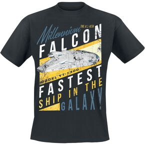 Star Wars Solo: A Star Wars Story - Fastest Ship T-shirt noir
