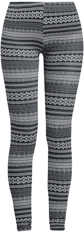 Image of   Forplay Ethno Leggings Leggings sort-hvid