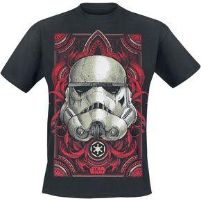 Star Wars Épisode 4 - Un Nouvel Espoir - Stormtrooper Ornaments T-shirt noir