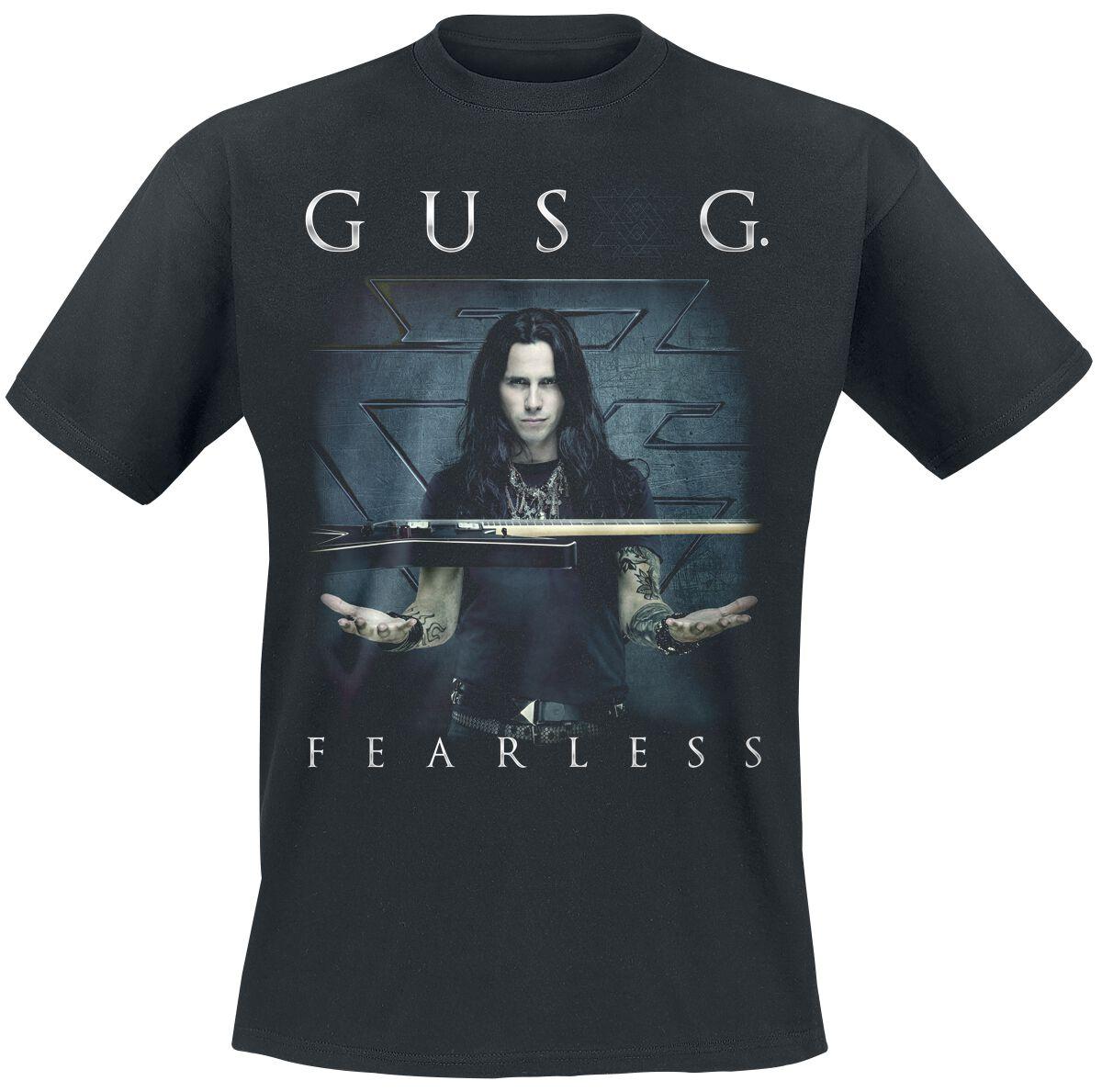 Image of   Gus G. Fearless CD & T-Shirt Standard