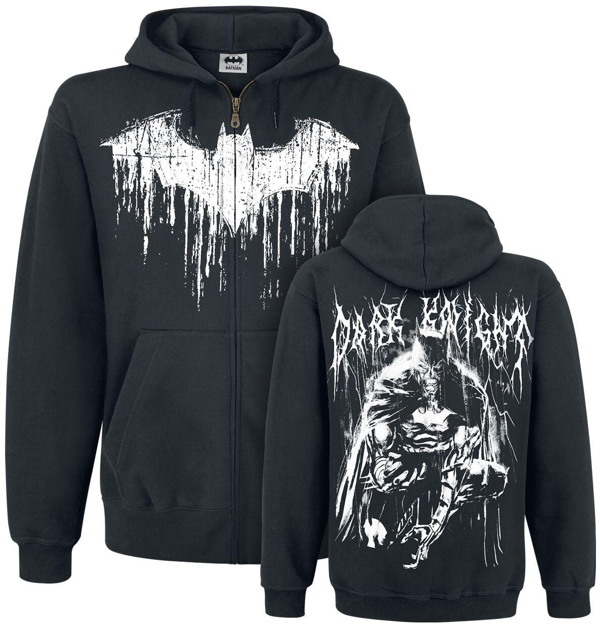 Image of   Batman Bat Metal Hættejakke sort