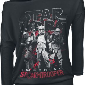 Star Wars Solo: A Star Wars Story - Imperial Stormtrooper Manches Longues Femme noir