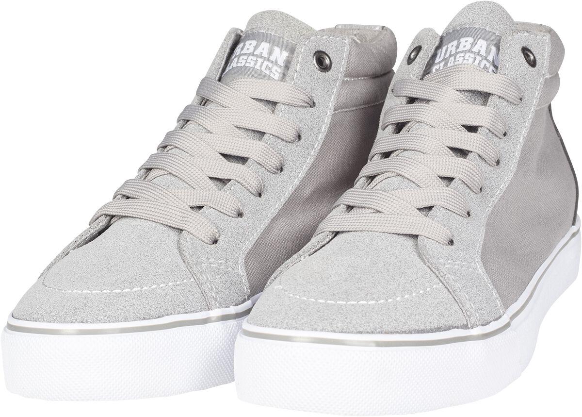 Image of   Urban Classics High Canvas Sneaker Sneakers grå-hvid