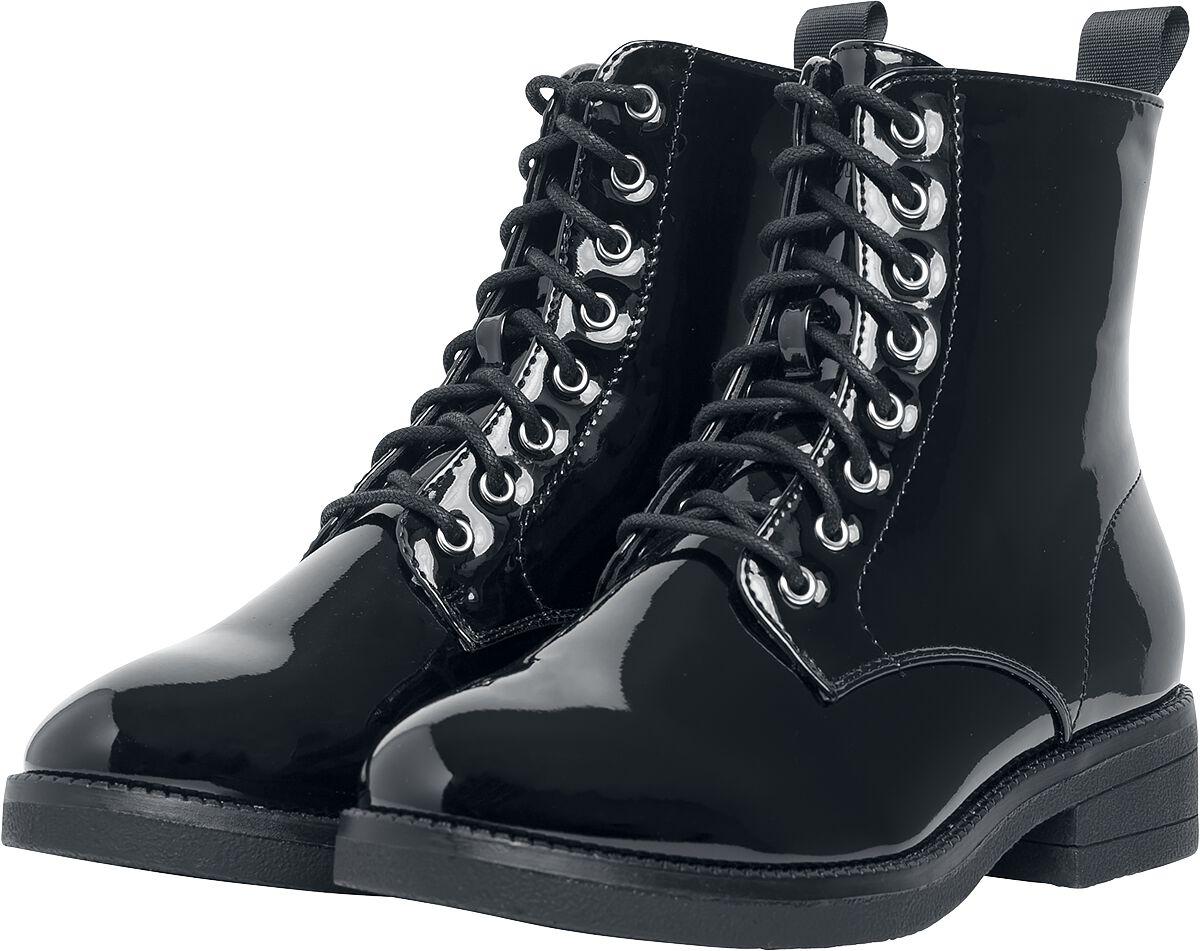 Image of   Urban Classics Lace Boot Støvler sort