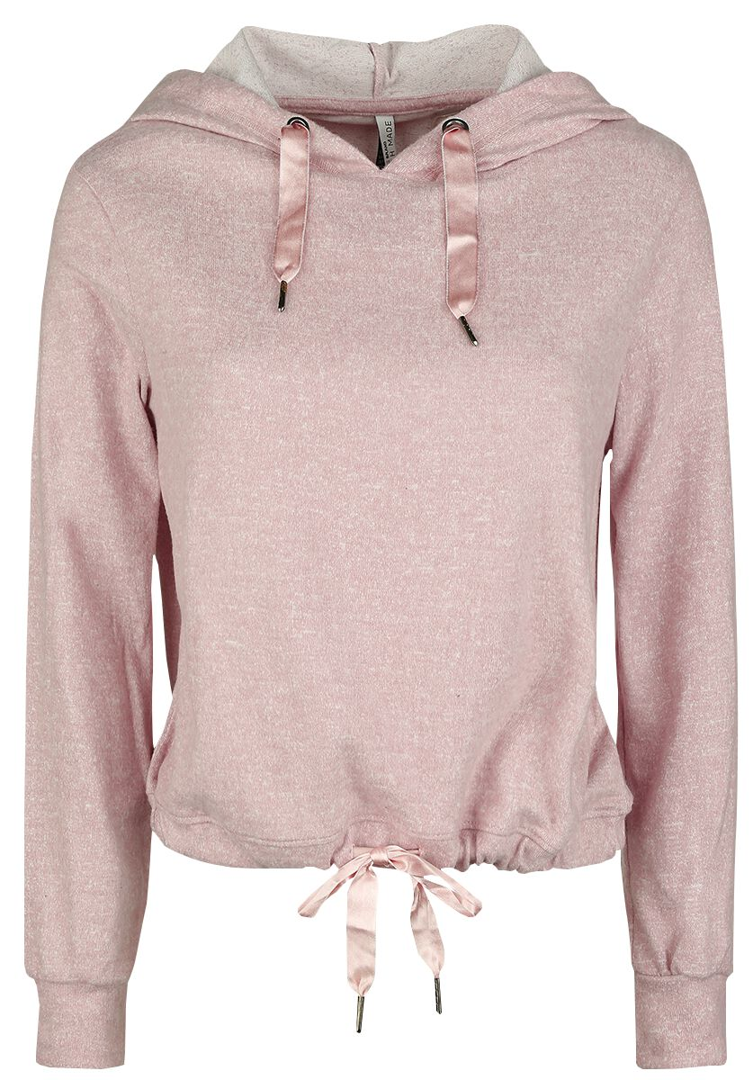 Fresh Made Ladies Hoodie Bluza z kapturem damska jasnoróżowy (Light Pink)