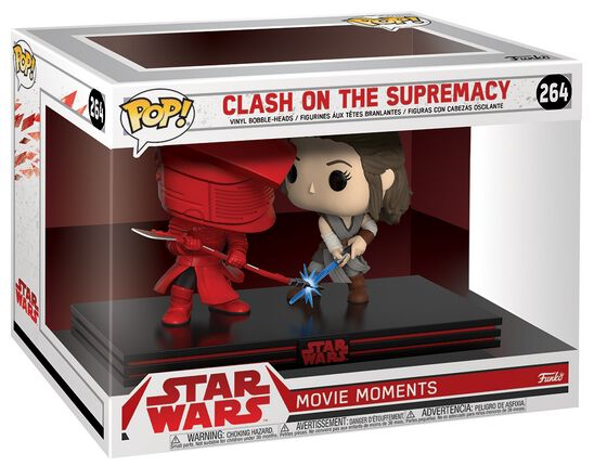 Image of   Star Wars Clash on the Supremacy (Movie Moments) Vinyl Figure 264 Samlefigur Standard