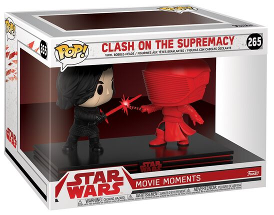 Image of   Star Wars Clash on the Supremacy (Movie Moments) Vinyl Figure 265 Samlefigur Standard