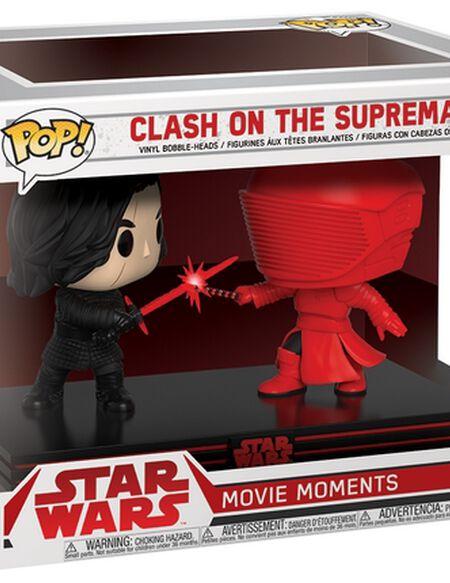 Figurine Pop! Movie Moment : Kylo Ren et Garde Prétorienne- Star Wars, épisode VIII : Les Derniers Jedi