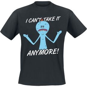 Rick & Morty Mr. Meeseeks - I Can't Take It Anymore T-shirt noir