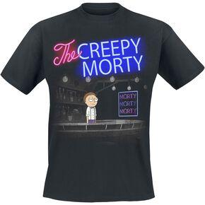 Rick & Morty Bartender Morty T-shirt noir