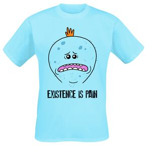 Rick & Morty Mr. Meeseeks - Existence Is Pain T-shirt bleu