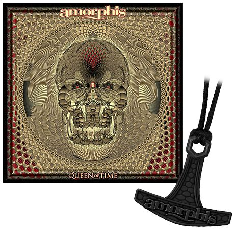 Amorphis Queen of time CD & Halskette Standard