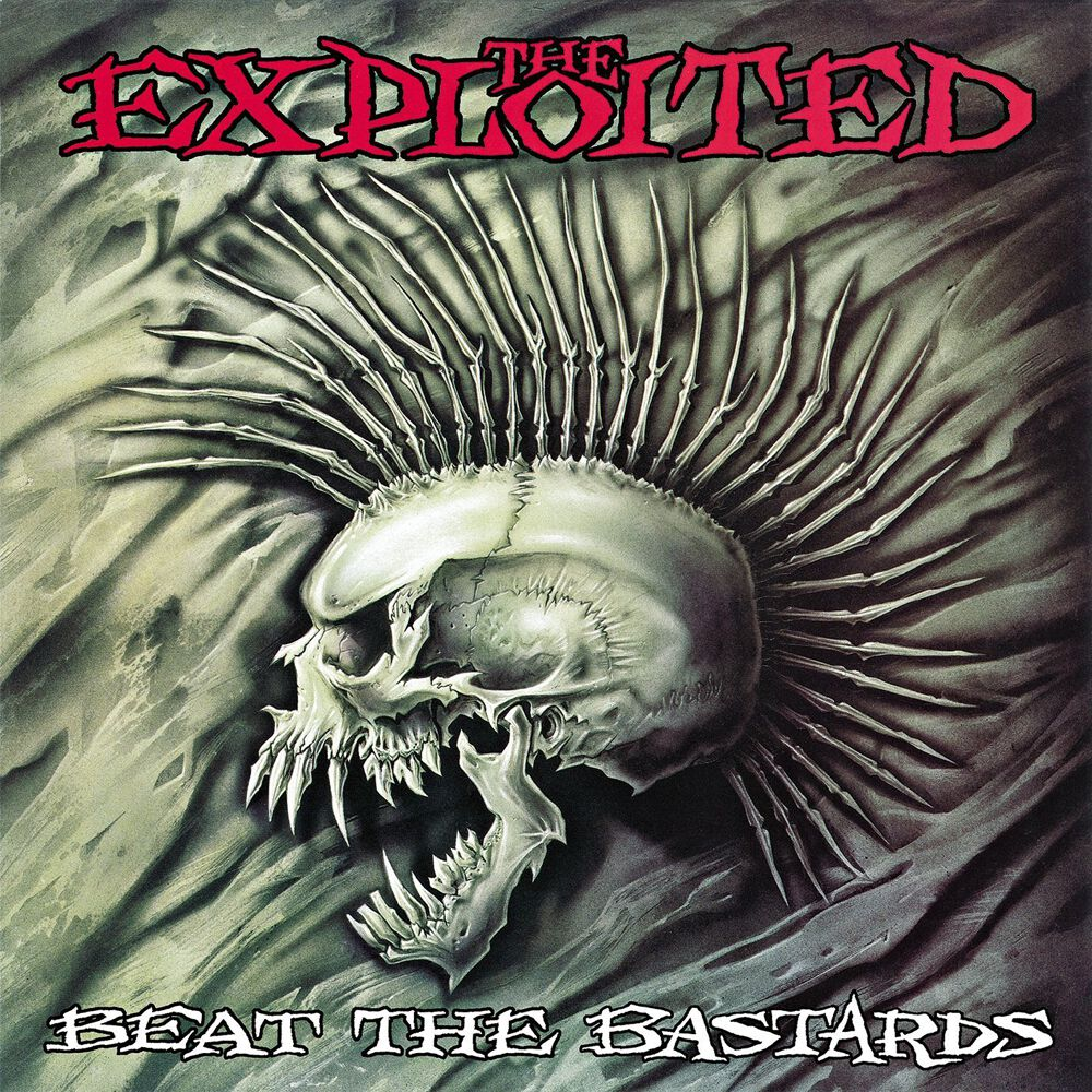 The Exploited Beat The Bastards CD Standard