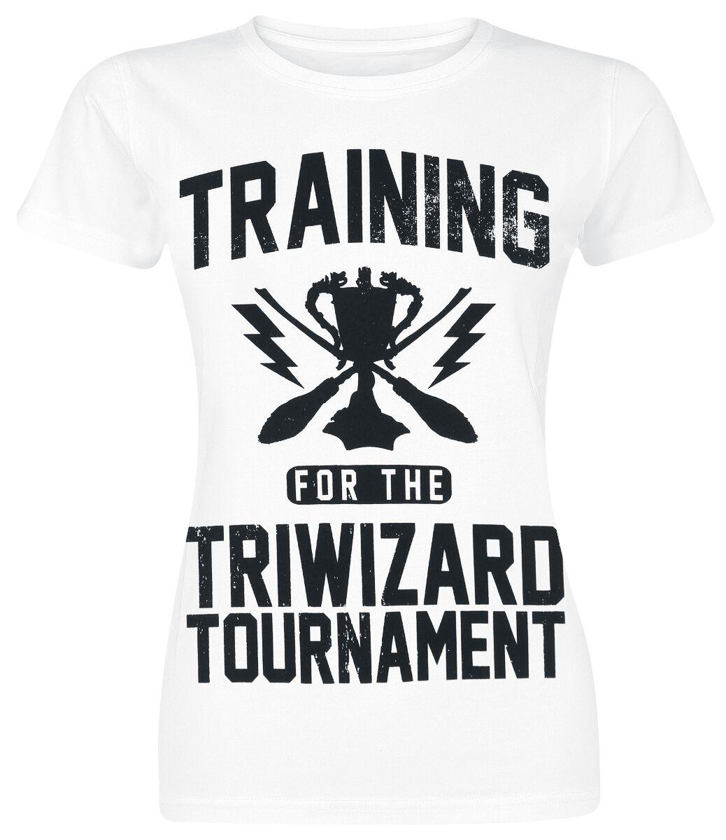 Harry Potter Triwizard Tournament Koszulka damska biały