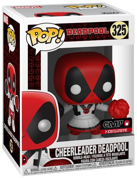 Image of   Deadpool Cheerleader Deadpool Vinyl Figure 325 Samlefigur Standard