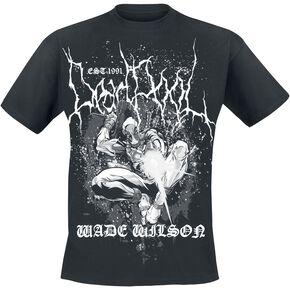 Deadpool Wilson Metal T-shirt noir