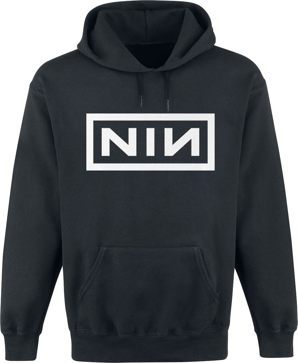 Image of   Nine Inch Nails Classic Logo Hættetrøje sort