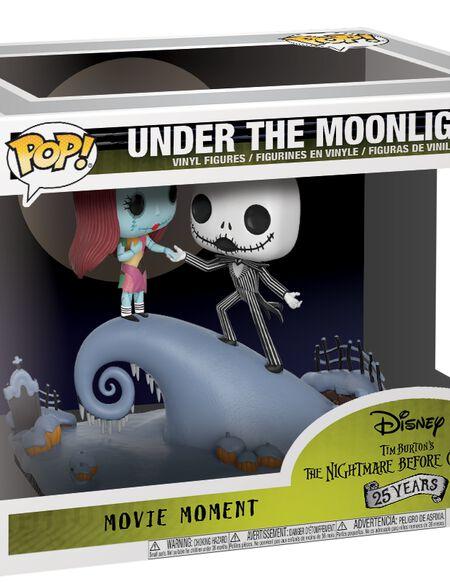 Figurine Pop! Jack et Sally Movie Moment- L'Étrange Noël de monsieur Jack
