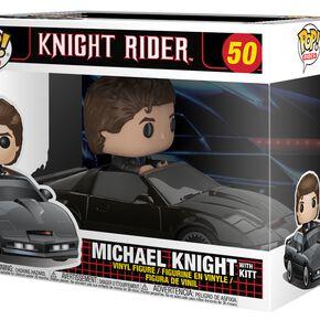 Figurine Pop! Chevalier avec Kitt - Knight Rider