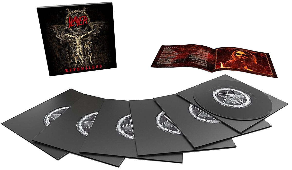 Image of   Slayer Repentless 6 x 7 inch standard