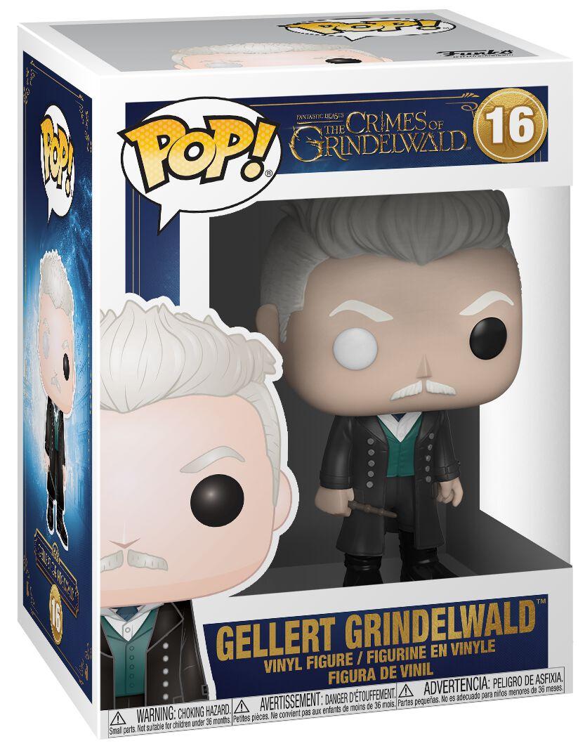Image of   Fantastic Beasts Grindelwalds Verbrechen - Gellert Grindelwald Vinyl Figure 16 Samlefigur Standard