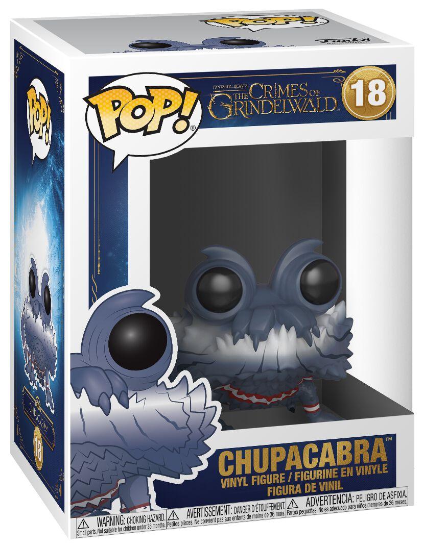 Image of   Fantastic Beasts Grindelwalds Verbrechen - Chupacabra Vinyl Figure 18 Samlefigur Standard