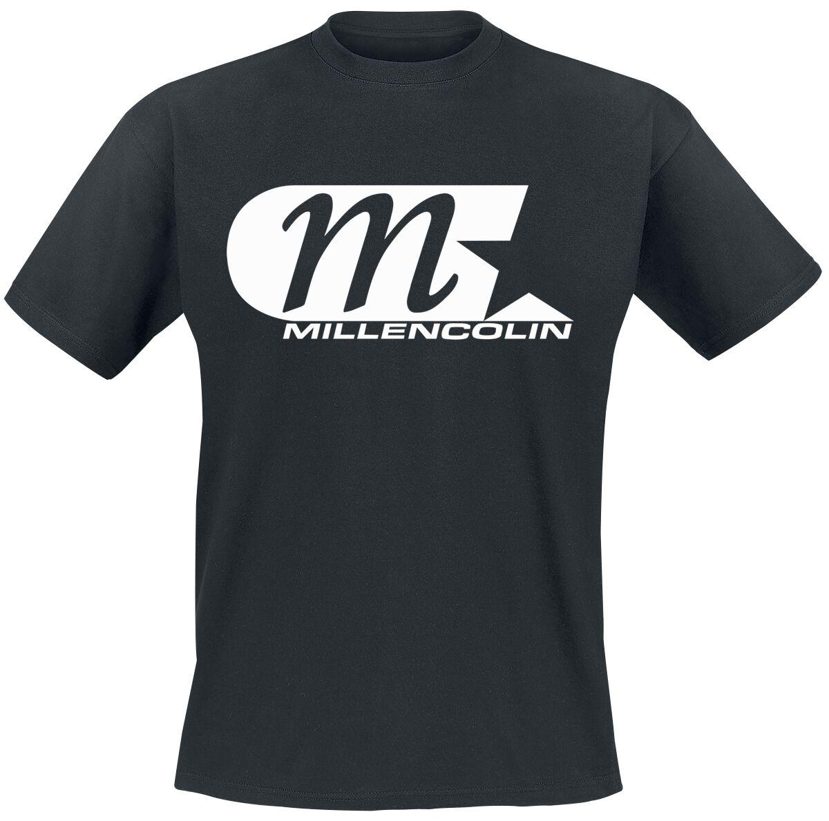Millencolin Logo T-Shirt schwarz