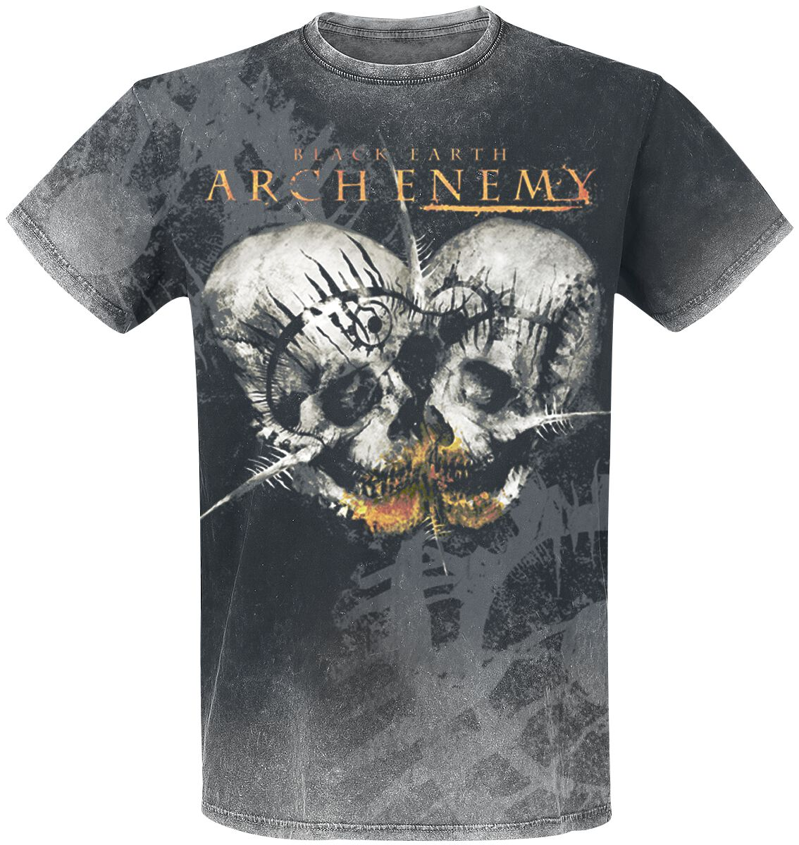 Image of   Arch Enemy Black earth T-Shirt mørk grå
