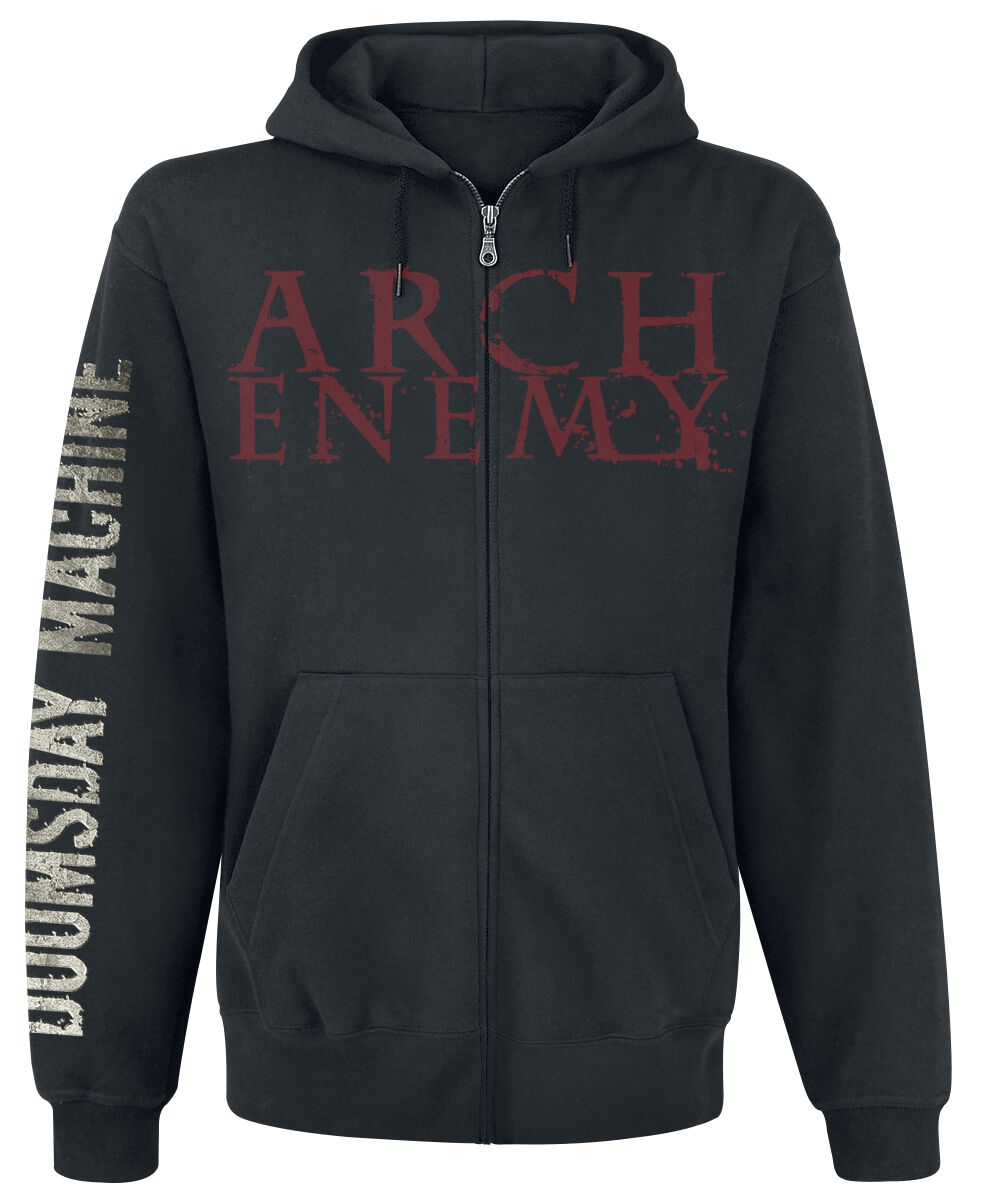 Image of   Arch Enemy Doomsday machine Hættejakke sort