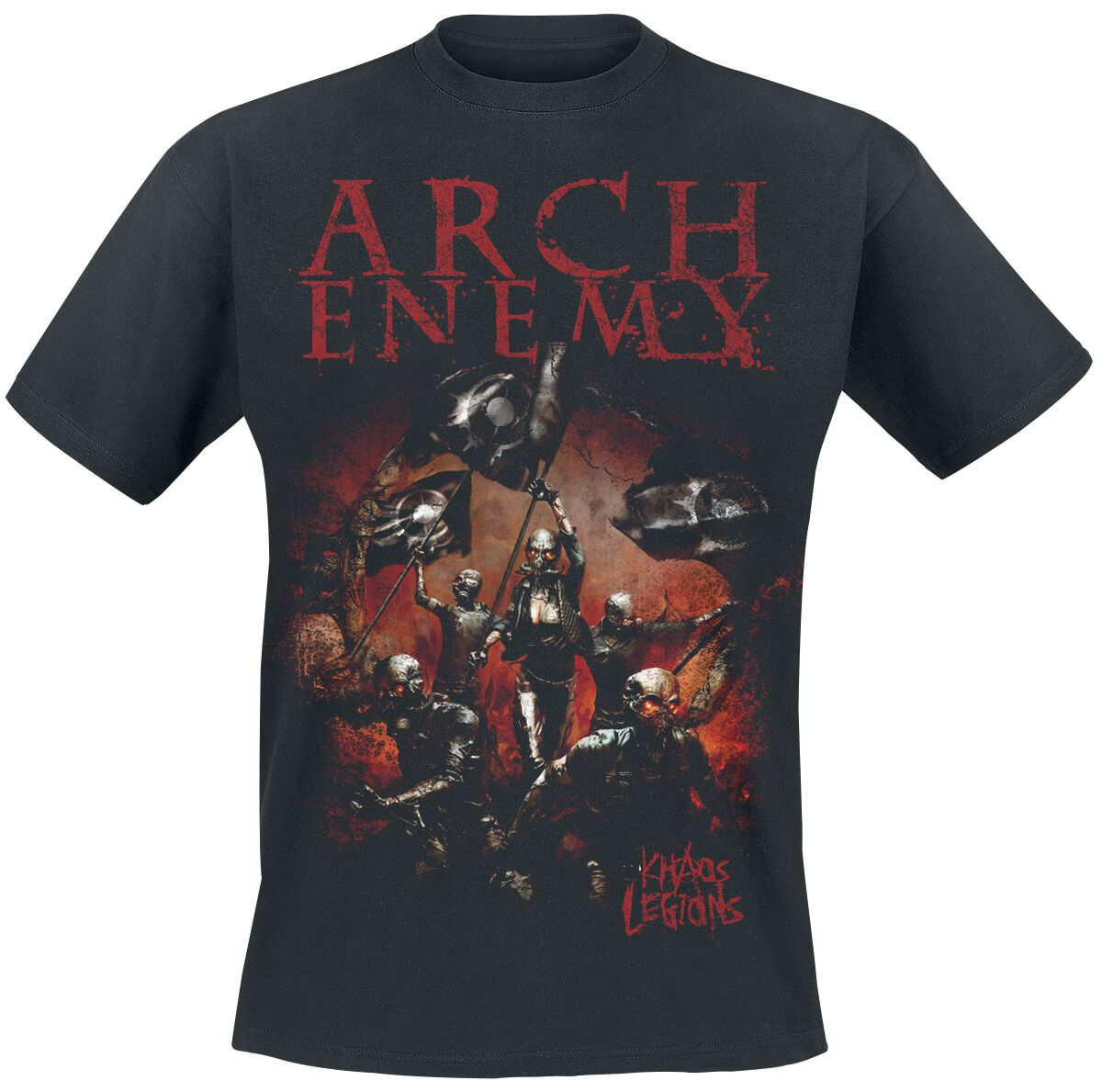 Image of   Arch Enemy Khaos legions T-Shirt sort