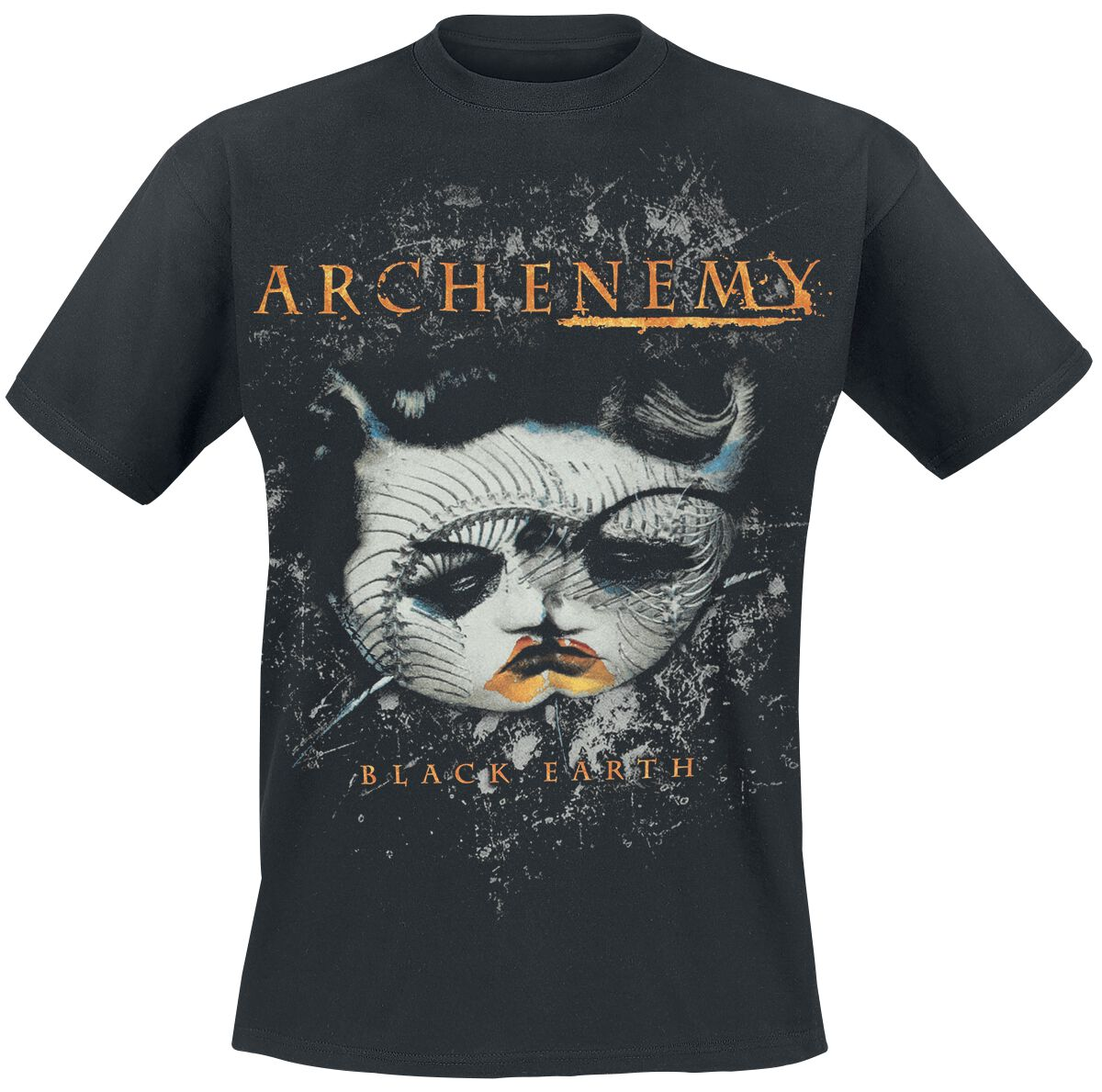 Image of   Arch Enemy Black earth 2 T-Shirt sort