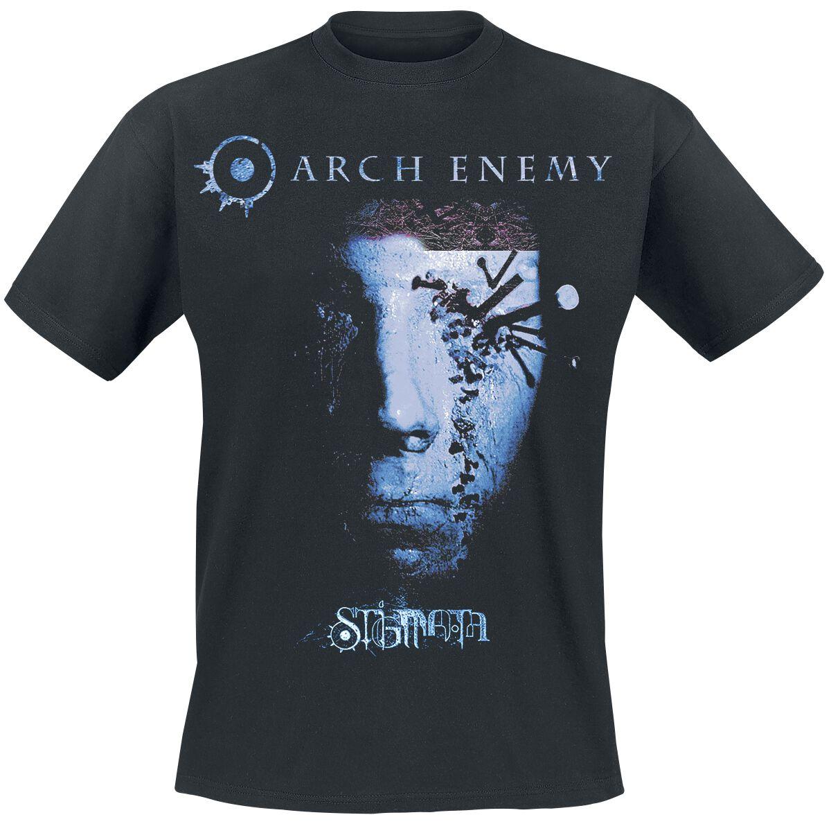Image of   Arch Enemy Stigmata 2 T-Shirt sort